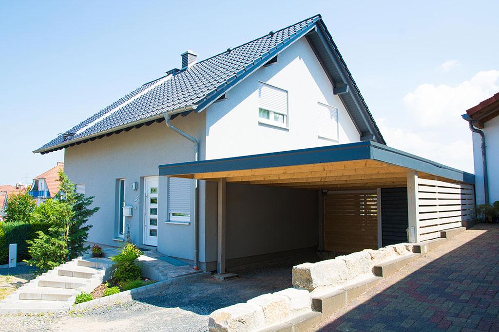 Carport Bausatz Kaufen. Cool Begehbare Carports Als Balkon